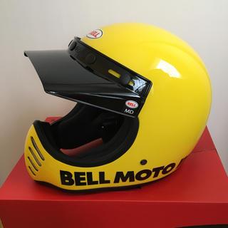 ベル(BELL)の【未使用品】BELL MOTO-3 復刻 クラシックイエロー MOTO3(ヘルメット/シールド)