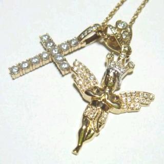 アヴァランチ(AVALANCHE)の【アバランチ】AVALANCHE K10 エンジェル・クロス 50cmネックレス(ネックレス)