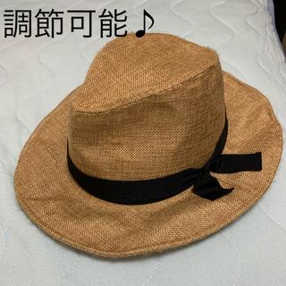 スタディオクリップ(STUDIO CLIP)のスタディオクリップ   調節可能麦わら帽子ふう 最終お値下げ(麦わら帽子/ストローハット)