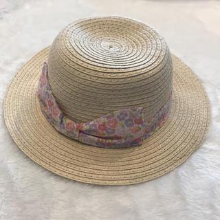アカチャンホンポ(アカチャンホンポ)の【美品】麦わら帽子 ハット 48cm(帽子)