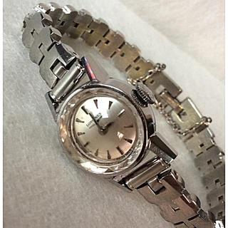 ロンジン(LONGINES)の良品‼️希少‼️ LONGINES ロンジン カットガラス レディース 腕時計(腕時計)