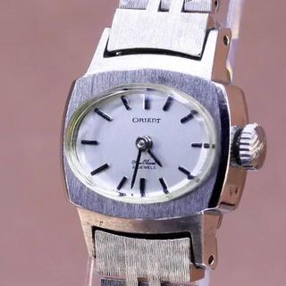 オリエント(ORIENT)のレディース デッドストック オリエント ニューシャネル 手巻(腕時計)
