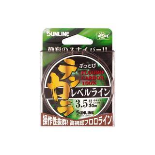 サンライン SUNLINE ぶっとびテンカラ レベルライン 30m 3.5号(釣り糸/ライン)