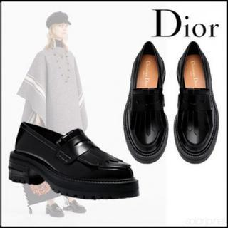 Christian Dior - クリスチャンディオール フリンジローファー