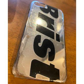 エフシーアールビー(F.C.R.B.)のFCRB iPhone case for 6,7,8 silver (iPhoneケース)