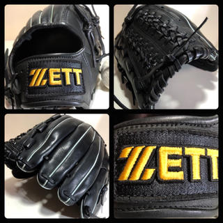 ゼット(ZETT)の◆美品 良型 即戦力◆ ZETT 一般 軟式 野球 グローブ レア ボール付き★(グローブ)