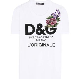 ドルチェアンドガッバーナ(DOLCE&GABBANA)のドルチェ&ガッバーナ  刺繍Tシャツ(Tシャツ(半袖/袖なし))