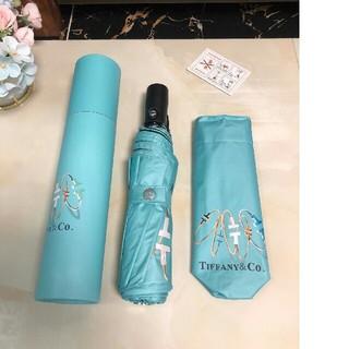 ティファニー(Tiffany & Co.)の折りたたみ傘 ティファニー  晴雨兼用(傘)