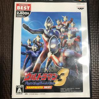 バンプレスト(BANPRESTO)のウルトラマン ファイティングエボリューション 3(バンプレストベスト) PS2(家庭用ゲームソフト)