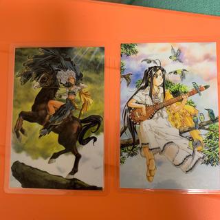 コウダンシャ(講談社)のああっ女神さまっ ラミカ ウルド スクルド(カード)