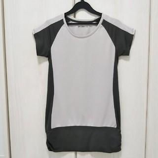 ジーユー(GU)のgu sports☆スポーツTシャツ M(Tシャツ(半袖/袖なし))
