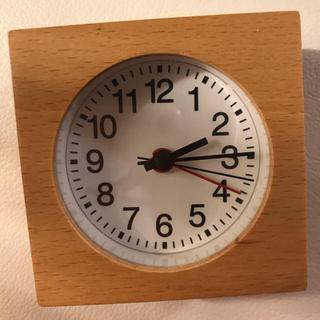 ムジルシリョウヒン(MUJI (無印良品))のMUJI 時計(置時計)