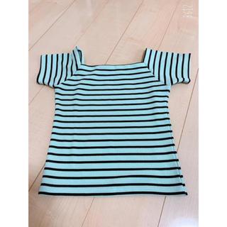 ワンウェイ(one*way)のボーダートップス(Tシャツ/カットソー(半袖/袖なし))