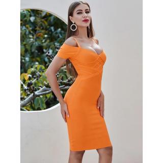 エンジェルアール(AngelR)のバンテージ オレンジ ドレス(ナイトドレス)