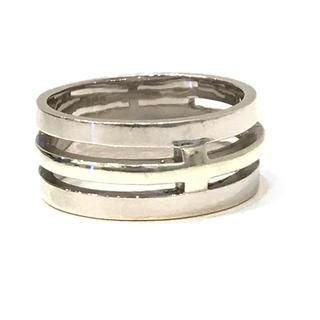 5807 WGK10 リング/指輪 ホワイトゴールド 10金 15号(リング(指輪))