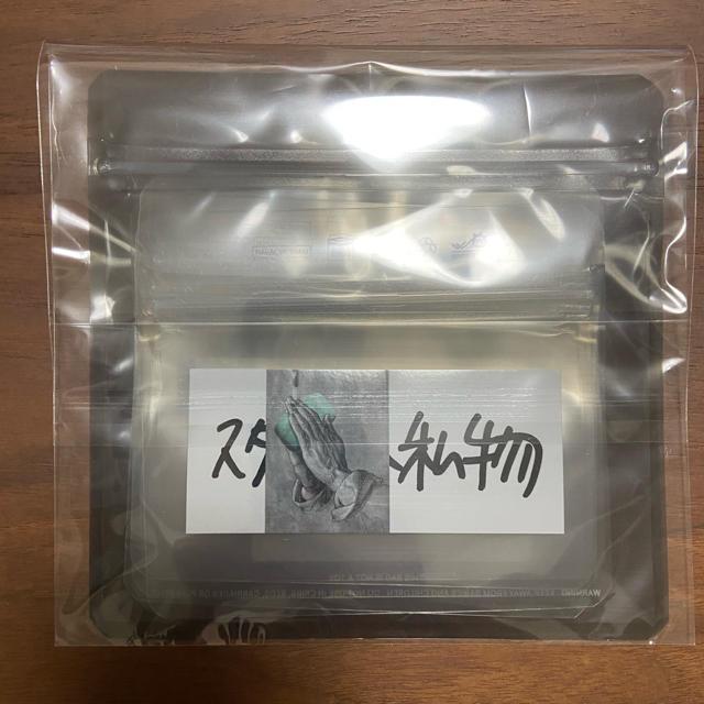 1LDK SELECT(ワンエルディーケーセレクト)の未使用 ENNOY スタイリスト私物 PAKE 完備品 ステッカー付 メンズのファッション小物(その他)の商品写真