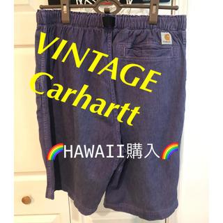 カーハート(carhartt)のⓂ️【入手困難】VINTAGE Carhartt PURPLE ショートパンツ(ショートパンツ)