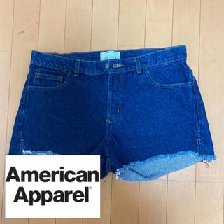 アメリカンアパレル(American Apparel)のアメアパ デニムショートパンツ(ショートパンツ)