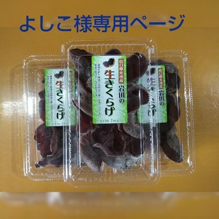 生きくらげ(野菜)