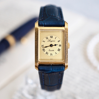 ロンジン(LONGINES)の美品✨ロンジン 150周年モデル 新品ベルト✨オメガ ドゥーズィエムクラス(腕時計)