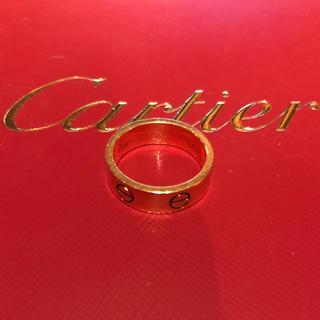 カルティエ(Cartier)のcartier カルティエ ラブリング YG 54 ジュスト(リング(指輪))