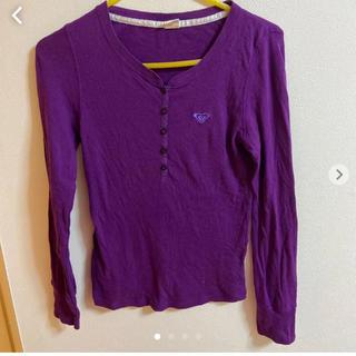 ロキシー(Roxy)のroxy ロンT 紫(Tシャツ(長袖/七分))