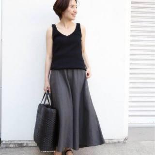 ドゥーズィエムクラス(DEUXIEME CLASSE)の新品 アササルファーゾメスカート 34(ロングスカート)