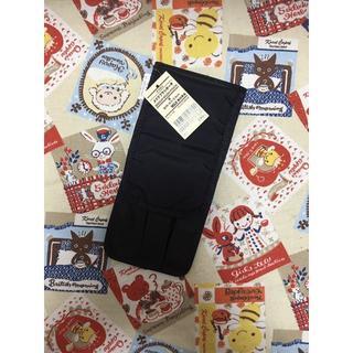 ムジルシリョウヒン(MUJI (無印良品))の無印良品 ナイロンメイクブラシポーチ 黒 タグ付未使用 ブラシケース ペンケース(メイクボックス)