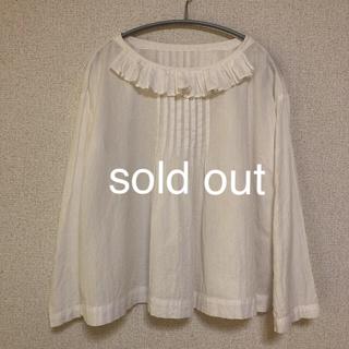 ネストローブ(nest Robe)のnest robe/ 襟が可愛い コットン ブラウス(シャツ/ブラウス(長袖/七分))