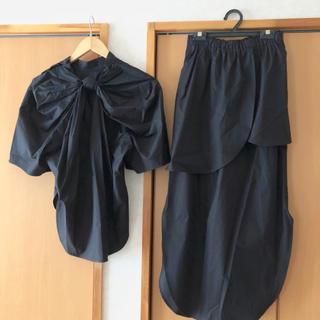 エンフォルド(ENFOLD)のENFOLD ブラウス スカート  セットアップ(セット/コーデ)