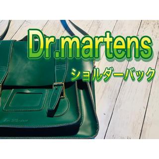 ドクターマーチン(Dr.Martens)の#52 Dr.martens ショルダーバッグ マーチン グリーン(ショルダーバッグ)