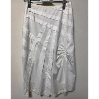 エーティー(A/T)のA/Tのイレギュラーヘムのスカート(ロング)(ロングスカート)