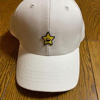 エックスガールステージス(X-girl Stages)のX-girl stages 子供CAP ホワイト(帽子)