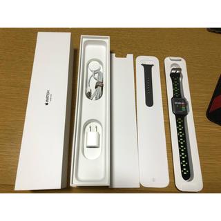 アップルウォッチ(Apple Watch)のApple Watch series3 42mm 完動品(腕時計(デジタル))