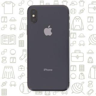 アイフォーン(iPhone)の【B】iPhoneX/64/SIMフリー(スマートフォン本体)