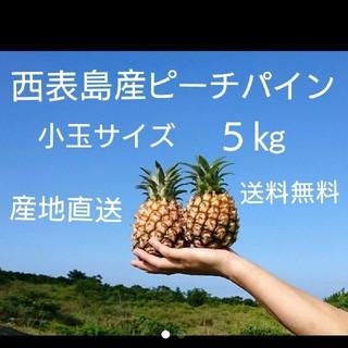 沖縄県西表島産ピーチパイン小玉サイズ約5㎏(9~12玉)(フルーツ)