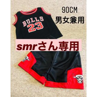 BULLSキッズセットアップ ブラック90cm(Tシャツ/カットソー)