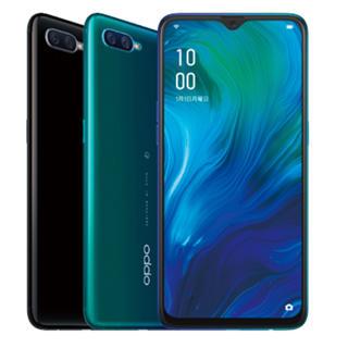 ラクテン(Rakuten)のOPPO Reno A 128GB 楽天モバイル版 ブラック&ブルー(スマートフォン本体)