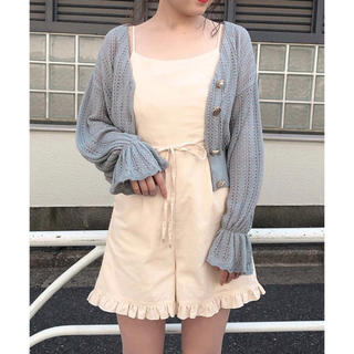 one after another NICE CLAUP - フリルサロペット❤︎who'swhochico wcloset heather