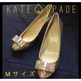 ケイトスペードニューヨーク(kate spade new york)のKATE SPADE グリッターパンプス(ハイヒール/パンプス)