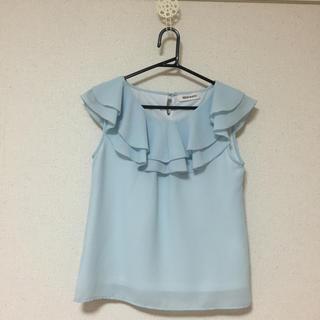 ミッシュマッシュ(MISCH MASCH)の美品   春夏用  フリルブラウス(シャツ/ブラウス(半袖/袖なし))