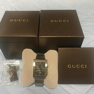 Gucci - GUCCI Gメトロ 8600M 貴重なスクウェアタイプのメンズウォッチ