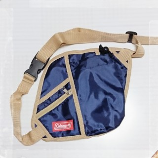 コールマン(Coleman)の新品 非売品 コールマン  ウェストバッグ ペットボトルポケット付き(ウエストポーチ)