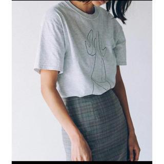 シールームリン(SeaRoomlynn)の完売品 MACCIU×Juemi Panty Drop Tシャツ(Tシャツ(半袖/袖なし))