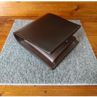 ガンゾ(GANZO)の新喜皮革 コードバン 二つ折り財布(折り財布)