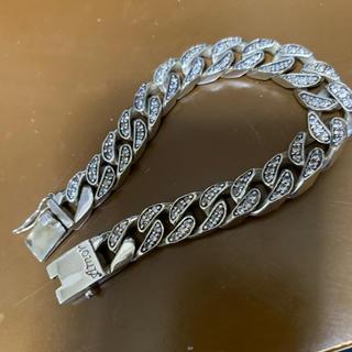 アヴァランチ(AVALANCHE)のAmor アモール CZダイヤモンドシルバー925喜平ブレスレット(ブレスレット)