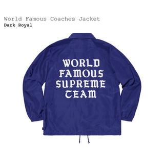 Supreme - M World Famous Coaches Jacket  コーチジャケット
