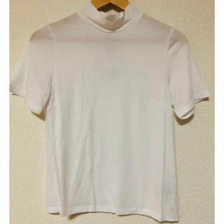 ミーア(MIIA)のMIIA ハイネック Tシャツ(Tシャツ(半袖/袖なし))