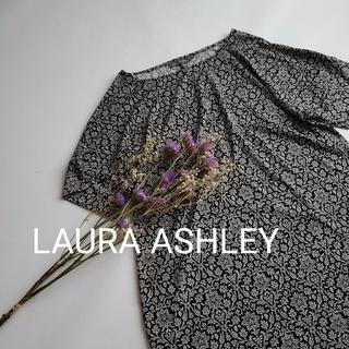 ローラアシュレイ(LAURA ASHLEY)のローラアシュレイ 総柄 花柄 9号 トップス(チュニック)