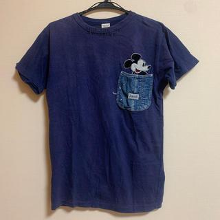 デニムダンガリー(DENIM DUNGAREE)の【再々値下げ】デニム&ダンガリー☆ミッキー Tシャツ 170cm(Tシャツ/カットソー)